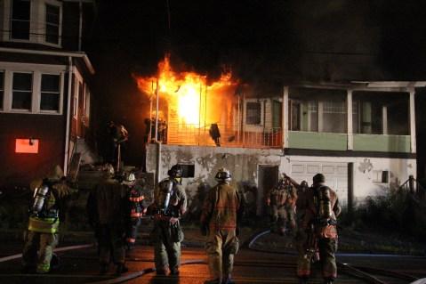 House Fire, 40-42 West Water Street, US209, Coaldale, 8-4-2015 (58)