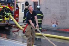 House Fire, 40-42 West Water Street, US209, Coaldale, 8-4-2015 (608)