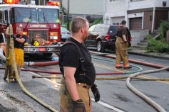 House Fire, 40-42 West Water Street, US209, Coaldale, 8-4-2015 (626)