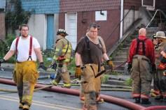House Fire, 40-42 West Water Street, US209, Coaldale, 8-4-2015 (628)