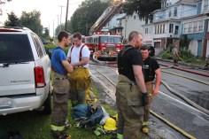 House Fire, 40-42 West Water Street, US209, Coaldale, 8-4-2015 (637)