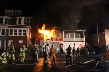 House Fire, 40-42 West Water Street, US209, Coaldale, 8-4-2015 (64)