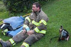 House Fire, 40-42 West Water Street, US209, Coaldale, 8-4-2015 (643)