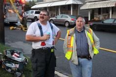 House Fire, 40-42 West Water Street, US209, Coaldale, 8-4-2015 (656)