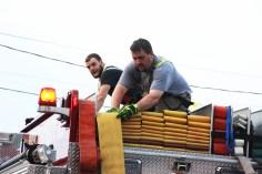 House Fire, 40-42 West Water Street, US209, Coaldale, 8-4-2015 (660)