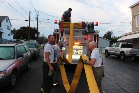 House Fire, 40-42 West Water Street, US209, Coaldale, 8-4-2015 (682)