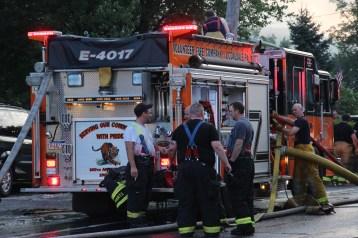House Fire, 40-42 West Water Street, US209, Coaldale, 8-4-2015 (684)