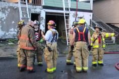 House Fire, 40-42 West Water Street, US209, Coaldale, 8-4-2015 (717)
