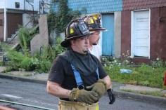 House Fire, 40-42 West Water Street, US209, Coaldale, 8-4-2015 (718)