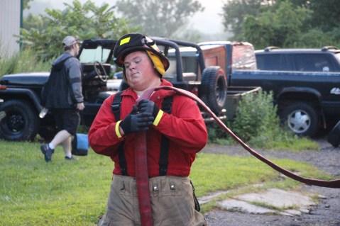 House Fire, 40-42 West Water Street, US209, Coaldale, 8-4-2015 (719)