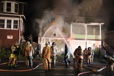 House Fire, 40-42 West Water Street, US209, Coaldale, 8-4-2015 (73)