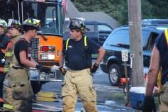 House Fire, 40-42 West Water Street, US209, Coaldale, 8-4-2015 (741)