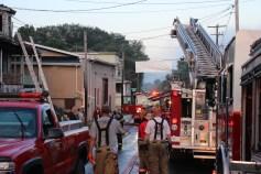House Fire, 40-42 West Water Street, US209, Coaldale, 8-4-2015 (771)
