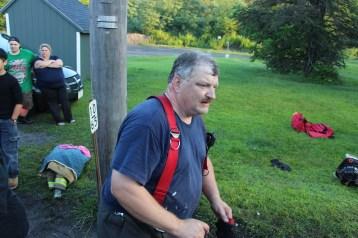 House Fire, 40-42 West Water Street, US209, Coaldale, 8-4-2015 (802)