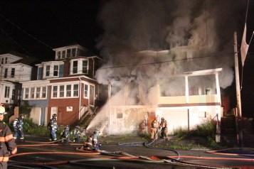 House Fire, 40-42 West Water Street, US209, Coaldale, 8-4-2015 (9)