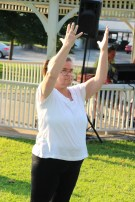 Music In The Park, Salvation Army performs, via Lansford Alive, Kennedy Park, Lansford (15)