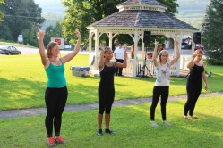 Music In The Park, Salvation Army performs, via Lansford Alive, Kennedy Park, Lansford (2)