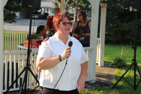 Music In The Park, Salvation Army performs, via Lansford Alive, Kennedy Park, Lansford (5)