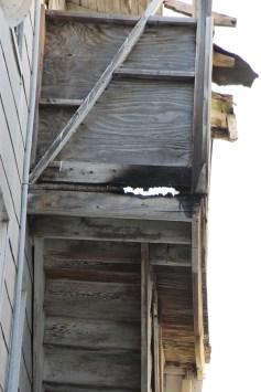 Porch Fire, Apartment Building, Laudromat, 127 East Phillips Street, Coaldale, 8-15-2015 (403)