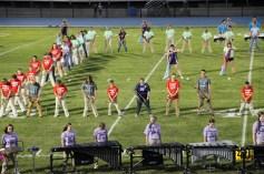 Raider Marching Band during Fall Meet The Raiders, TASD Sports Stadium, Tamaqua, 8-26-2015 (101)