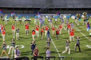 Raider Marching Band during Fall Meet The Raiders, TASD Sports Stadium, Tamaqua, 8-26-2015 (144)