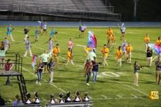 Raider Marching Band during Fall Meet The Raiders, TASD Sports Stadium, Tamaqua, 8-26-2015 (147)