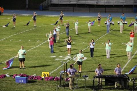 Raider Marching Band during Fall Meet The Raiders, TASD Sports Stadium, Tamaqua, 8-26-2015 (179)