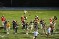 Raider Marching Band during Fall Meet The Raiders, TASD Sports Stadium, Tamaqua, 8-26-2015 (255)