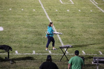 Raider Marching Band during Fall Meet The Raiders, TASD Sports Stadium, Tamaqua, 8-26-2015 (270)