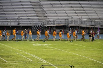 Raider Marching Band during Fall Meet The Raiders, TASD Sports Stadium, Tamaqua, 8-26-2015 (42)