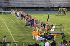 Raider Marching Band during Fall Meet The Raiders, TASD Sports Stadium, Tamaqua, 8-26-2015 (46)