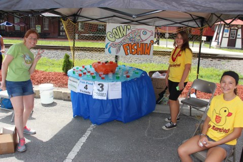Salvation Army Kidz Karnival, Kids Carnival, Train Station Lot, Tamaqua, 8-4-2015 (1)