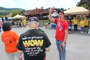 Salvation Army Kidz Karnival, Kids Carnival, Train Station Lot, Tamaqua, 8-4-2015 (24)