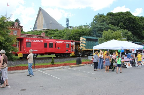 Salvation Army Kidz Karnival, Kids Carnival, Train Station Lot, Tamaqua, 8-4-2015 (62)
