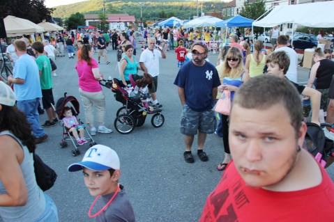 Salvation Army Kidz Karnival, Kids Carnival, Train Station Lot, Tamaqua, 8-4-2015 (72)