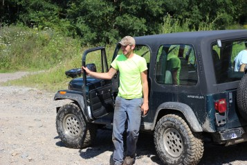 Search for Missing Man, South Ward Mountain, Tamaqua, 8-13-2015 (240)