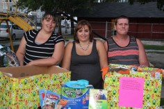 SPCA Donation Drive, Tamaqua Girl Scouts, North and Middle Ward Playground, Tamaqua, 8-13-2015 (67)