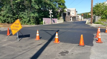 Spruce Street Construction Almost Complete, Tamaqua, 8-21-2015 (14)
