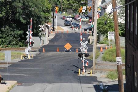 Spruce Street Construction Complete, Tamaqua, 8-21-2015 (200)
