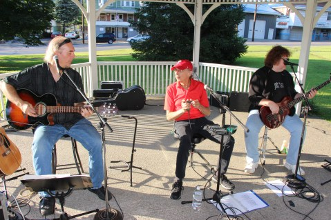 Sterling Koch Trio, Music In The Park, via Lansford Alive, Kennedy Park, Lansford (1)