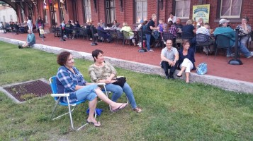 Steve Brosky & Jimmy Meyer, Tamaqua Chamber Summer Concert Series, Train Station, Tamaqua (16)