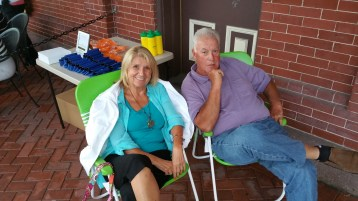 Steve Brosky & Jimmy Meyer, Tamaqua Chamber Summer Concert Series, Train Station, Tamaqua (17)