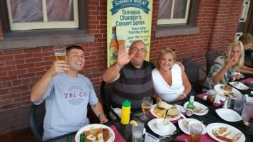 Steve Brosky & Jimmy Meyer, Tamaqua Chamber Summer Concert Series, Train Station, Tamaqua (24)
