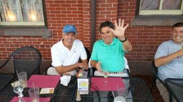 Steve Brosky & Jimmy Meyer, Tamaqua Chamber Summer Concert Series, Train Station, Tamaqua (25)