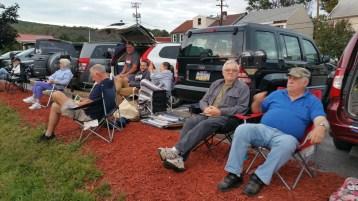 Steve Brosky & Jimmy Meyer, Tamaqua Chamber Summer Concert Series, Train Station, Tamaqua (7)