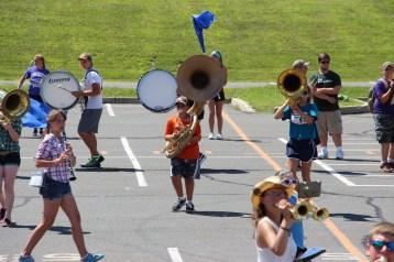 Tamaqua Raider Band Camp, Middle School Parking Lot, Tamaqua, 8-13-2015 (324)