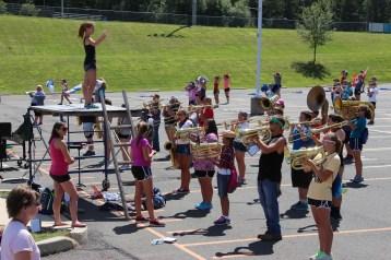 Tamaqua Raider Band Camp, Middle School Parking Lot, Tamaqua, 8-13-2015 (380)