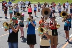 Tamaqua Raider Band Camp, Middle School Parking Lot, Tamaqua, 8-13-2015 (419)