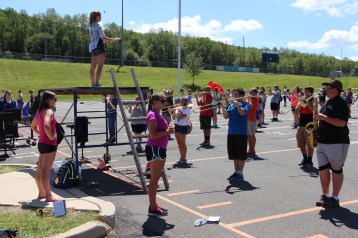 Tamaqua Raider Band Camp, Middle School Parking Lot, Tamaqua, 8-13-2015 (56)