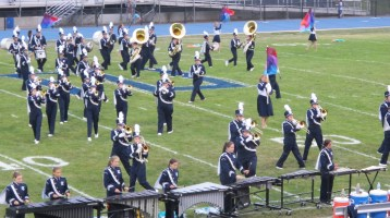 Blue Out Football Game, Benefit for Thelma Urban, Raider Band, Sports Stadium, Tamaqua, 9-4-2015 (147)